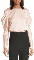 Tibi Women's Celestia Drape Sleeve Top