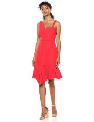 Laundry by Shelli Segal Women's Asymmetrical Core Cocktail Dress