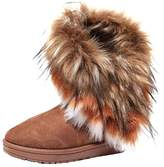 Unknown ARTCO Women's winter warm high long snow ankle boots faux fox fur tassel shoes three colors US9