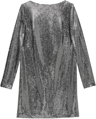 Gucci Metallic Sheen Mini Dress