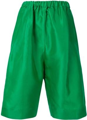 No.21 Elasticated Knee-Length Shorts