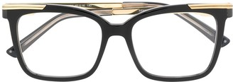 Cazal Square Glasses