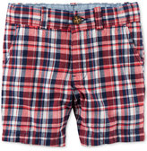 Carter's Plaid Cotton Shorts, Little Boys (2-7)