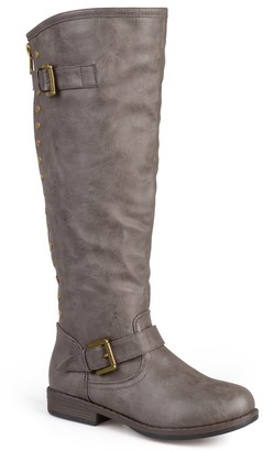 Journee Collection Spokane Riding Boot - Extra Wide Calf