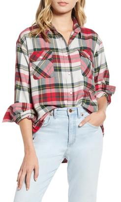 Wrangler New Boyfriend Flannel Shirt