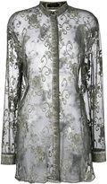 Unconditional embroidered shirt - women - Silk - XS