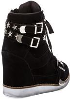 Jeffrey Campbell EXCLUSIVE Bonn Star Suede Wedge Sneaker