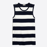 J.Crew Factory Striped perfect-fit shell