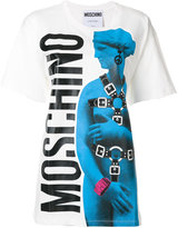 Moschino bondage graphic logo T-shirt