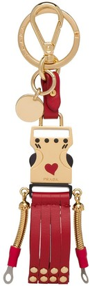 Prada Robot Buckle Keychain