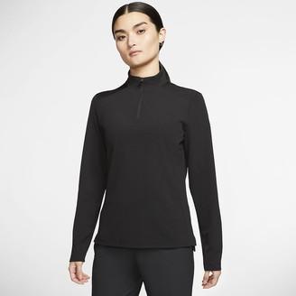 Nike Womens 1/2-Zip Golf Jacket Dri-FIT UV Victory