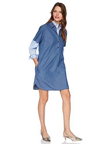 J.Crew Mercantile Women's Short Sleeve Chambray Shirtdress
