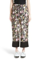 3.1 Phillip Lim Women's Meadow Flower Print Silk Crop Pants
