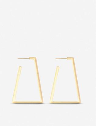 Kendra Scott Easton 14ct yellow gold-plated earrings