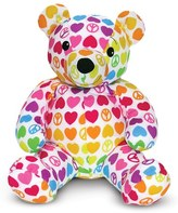 Melissa & Doug Toddler 'Beeposh - Hope Bear' Plush Toy