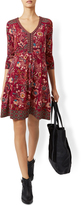 Monsoon Jade Floral Printed Dress