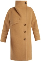 Acne Studios Ciara funnel-neck wool-blend coat