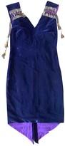 Jean Paul Gaultier Purple Silk Dress for Women Vintage