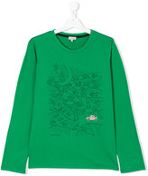 Paul Smith teen long sleeve printed T-shirt - kids - Cotton - 14 yrs
