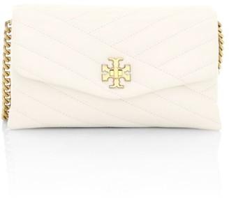 Tory Burch Kira Chevron Leather Wallet-On-Chain