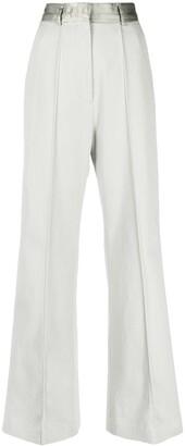 MM6 MAISON MARGIELA High-Waist Wide-Leg Trousers