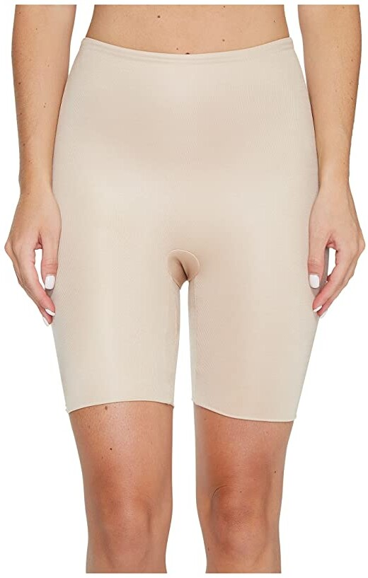 Spanx Power Conceal-Her Mid-Thigh Short (Natural Glam) Women's Underwear