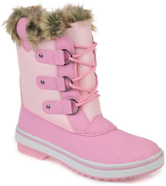 Journee Collection North Faux Fur Boot