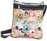 Disney Parks Exclusive Mickey Mouse Classic Collage Pattern Crossbody Bag Purse