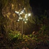 Spotted Christmas Garden Star Light
