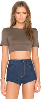 Twenty Perfect Rib Crop Top