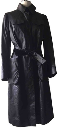 Martine Sitbon Brown Wool Trench Coat for Women