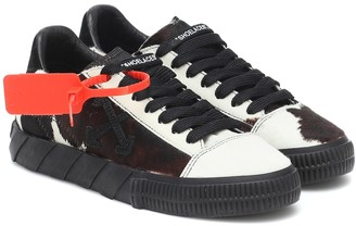 Off-White Low Vulcanized calf hair sneakers