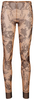 DSQUARED2 tattoo printed leggings