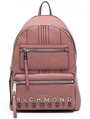 John Richmond Logo-Embellished Backpack