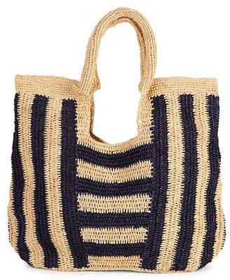 Mar y Sol Striped Raffie Shopper