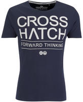 Crosshatch Men's Roshaun T-Shirt - Total Eclipse