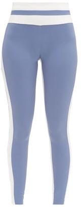 Vaara Flo High-rise Bi-colour Leggings - Blue White
