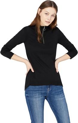 Find. Amazon Brand Women's Zip Collar Jumper