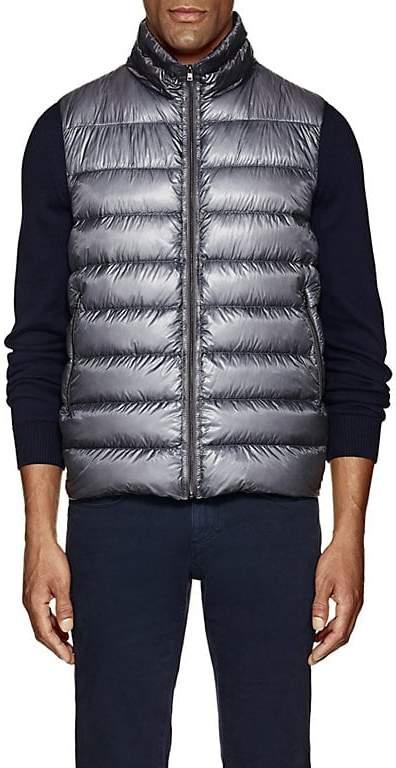 Herno Men's Down-Quilted Ripstop Vest