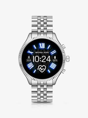 Michael Kors Gen 5 Lexington Silver-Tone Smartwatch