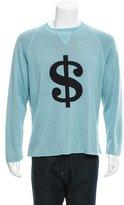 Lucien Pellat-Finet Intarsia Crew Neck Sweater