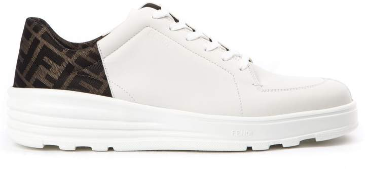 Leather Leather White With Leather Sneakers White Sneakers Monogram White With Monogram thQrxsBdC