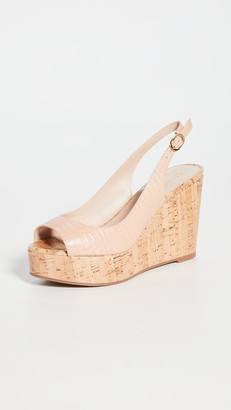 Stuart Weitzman Riveria Wedge Sandals