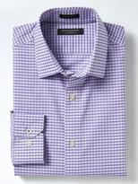 Banana Republic Camden-Fit Non-Iron Stretch Gingham Shirt