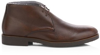 To Boot Mansfiled Cashmere Lined Leather Chukka Boots