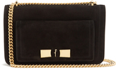 Salvatore Ferragamo Ginevra nubuck-leather shoulder bag