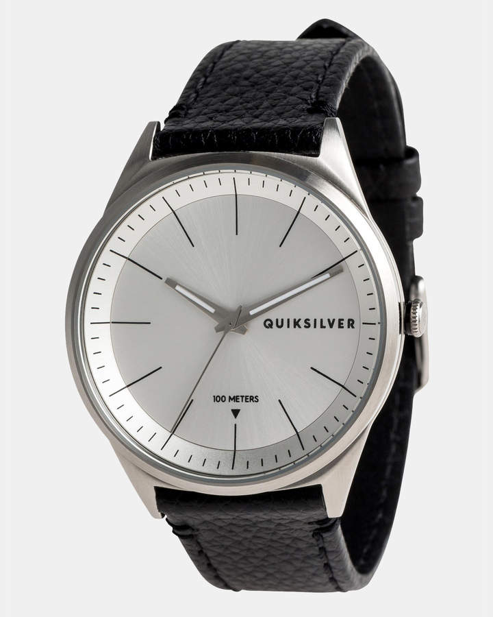 Quiksilver Mens Bienville 44mm Leather Watch