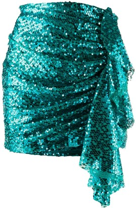 In The Mood For Love Emely sequin embellished skirt