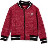 Reebok Dark Berry Varsity Jacket - Girls