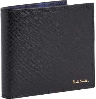 Paul Smith Leather Mini Cooper Billfold and Coin Wallet